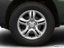 2007 Kia Sportage Front Drivers side wheel at profile
