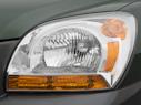 2007 Kia Sportage Drivers Side Headlight