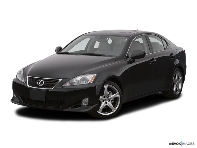 2007 Lexus IS 250 Front angle view