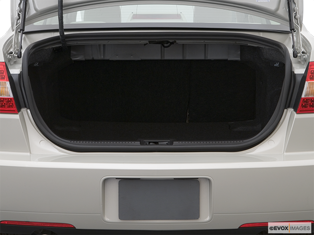 2007 Lincoln MKZ Trunk open