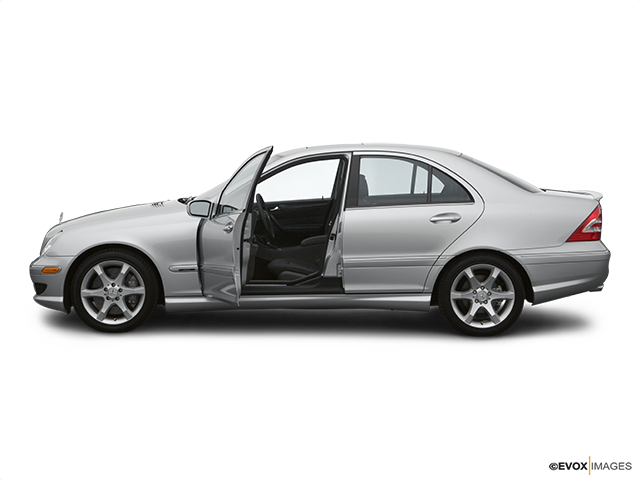 2007 Mercedes-Benz C-Class Driver's side profile with drivers side door open