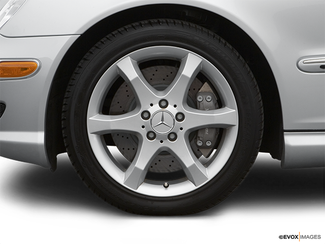 2007 Mercedes-Benz C-Class Front Drivers side wheel at profile