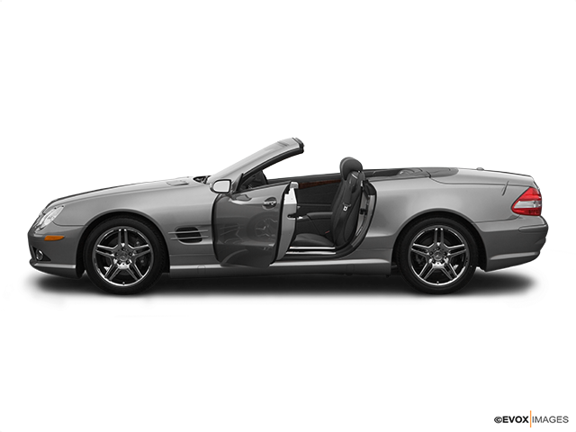 2007 Mercedes-Benz SL-Class Driver's side profile with drivers side door open