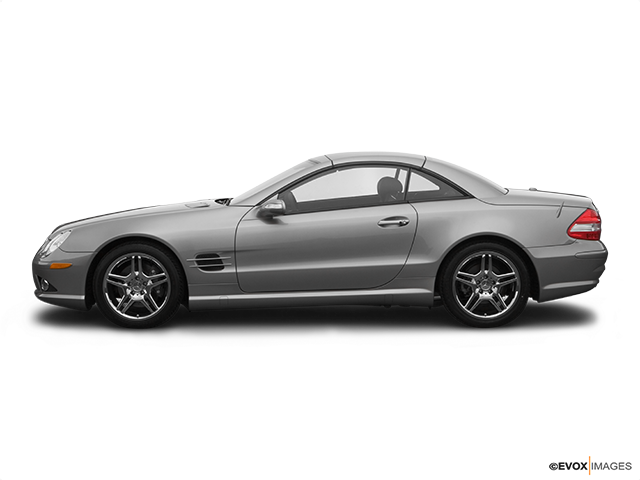 2007 Mercedes-Benz SL-Class Drivers side profile, convertible top up (convertibles only)