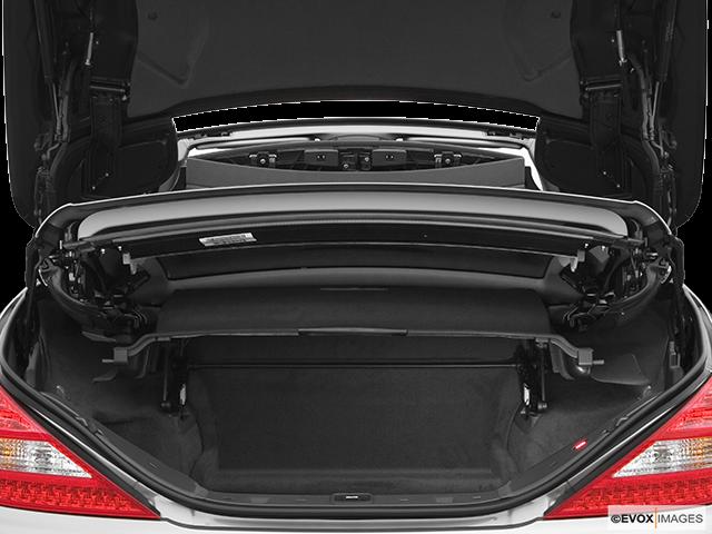 2007 Mercedes-Benz SL-Class Trunk open