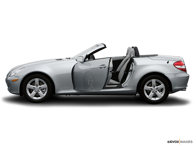 2007 Mercedes-Benz SLK Driver's side profile with drivers side door open