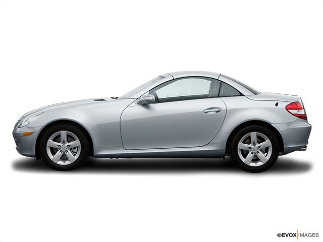 2007 Mercedes-Benz SLK Drivers side profile, convertible top up (convertibles only)