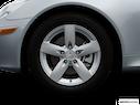 2007 Mercedes-Benz SLK Front Drivers side wheel at profile