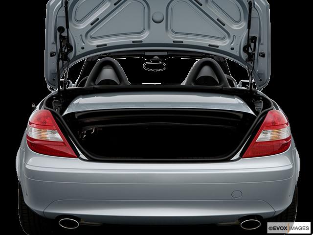 2007 Mercedes-Benz SLK Trunk open