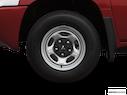 2007 Mitsubishi Raider Front Drivers side wheel at profile
