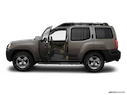 2007 Nissan Xterra Driver's side profile with drivers side door open