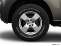 2007 Nissan Xterra Front Drivers side wheel at profile