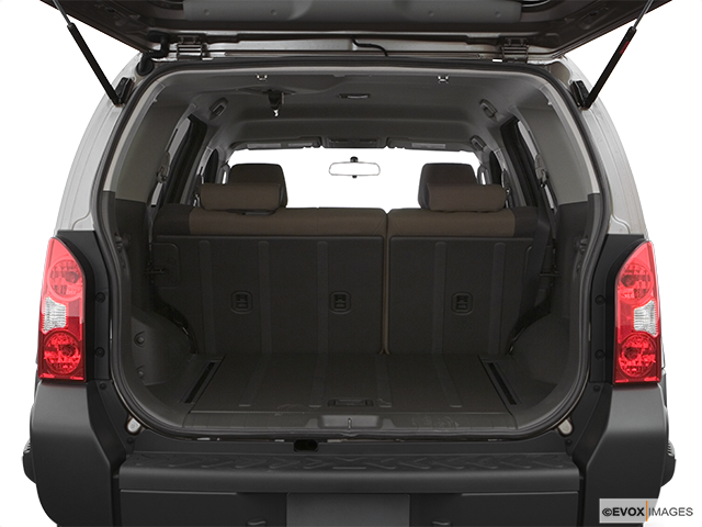 2007 Nissan Xterra Trunk open