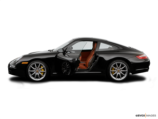 2007 Porsche 911 Driver's side profile with drivers side door open