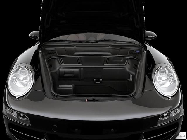 2007 Porsche 911 Trunk open