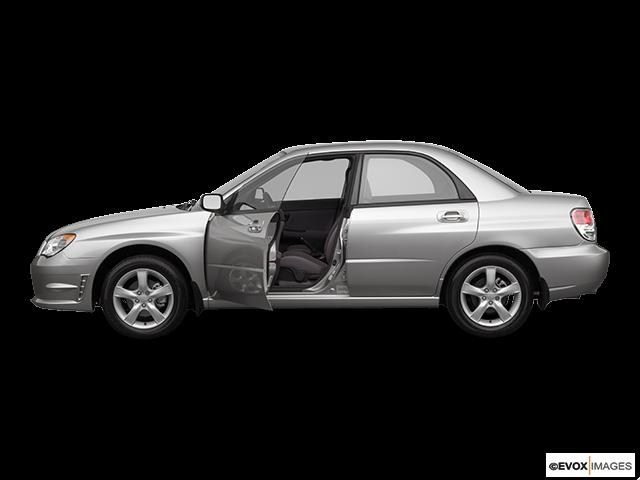 2007 Subaru Impreza Driver's side profile with drivers side door open