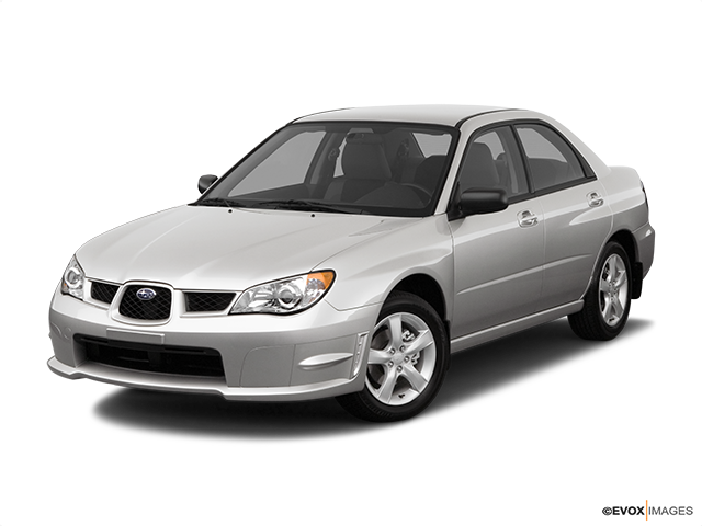 2007 Subaru Impreza Front angle view