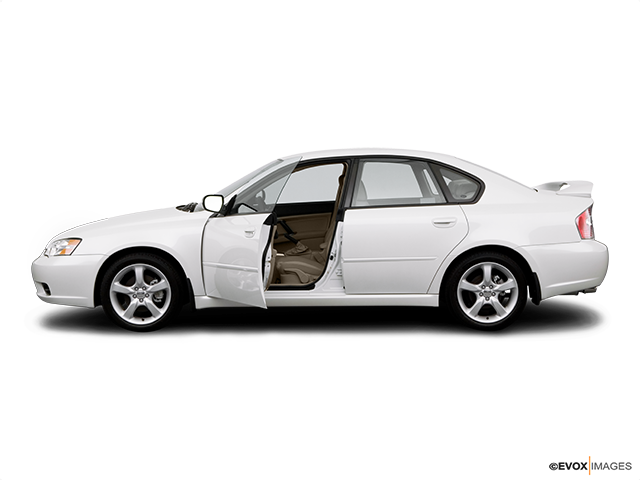 2007 Subaru Legacy Driver's side profile with drivers side door open