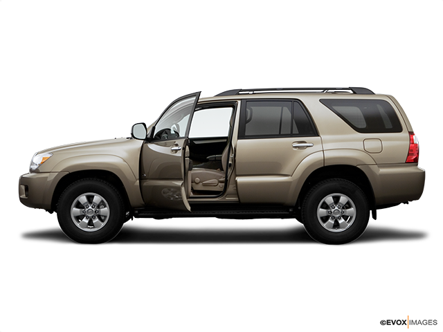 2007 Toyota 4Runner Driver's side profile with drivers side door open