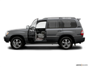 2007 Toyota Land Cruiser Driver's side profile with drivers side door open