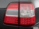 2007 Toyota Land Cruiser Passenger Side Taillight