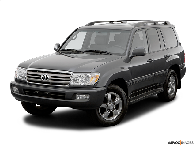 2007 Toyota Land Cruiser Front angle view