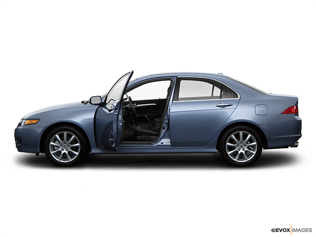 2008 Acura TSX Driver's side profile with drivers side door open