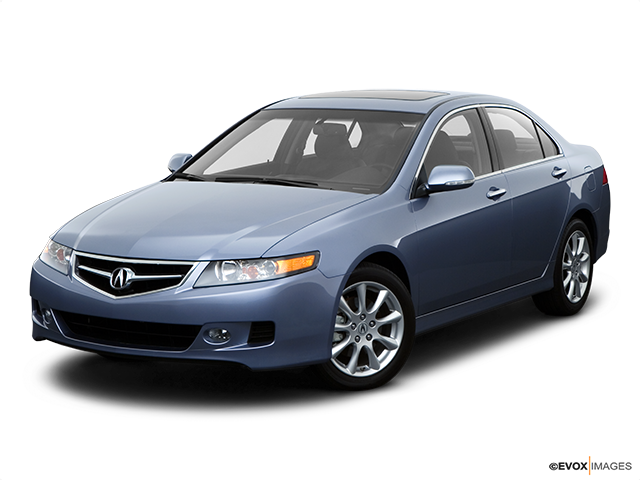 2008 Acura TSX Front angle view