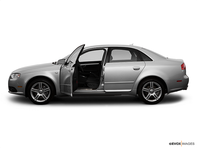 2008 Audi A4 Driver's side profile with drivers side door open