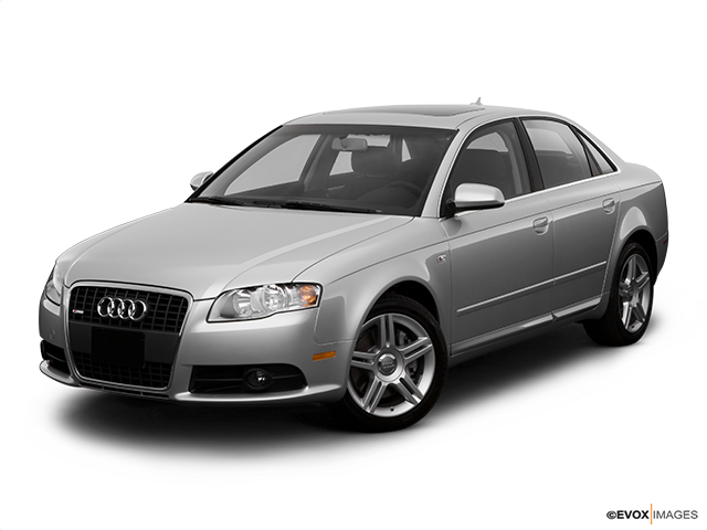 2008 Audi A4 Front angle view