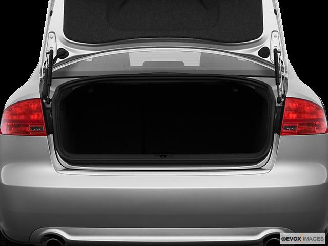 2008 Audi A4 Trunk open