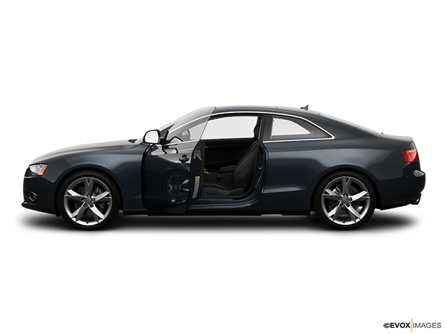 2008 Audi A5 Driver's side profile with drivers side door open