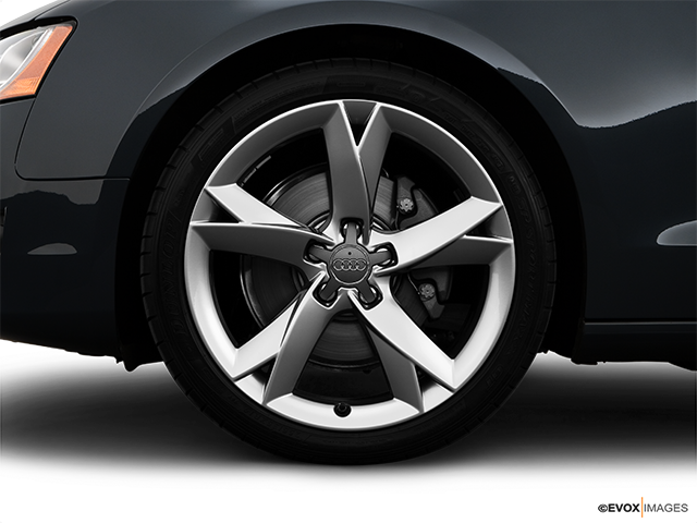 2008 Audi A5 Front Drivers side wheel at profile