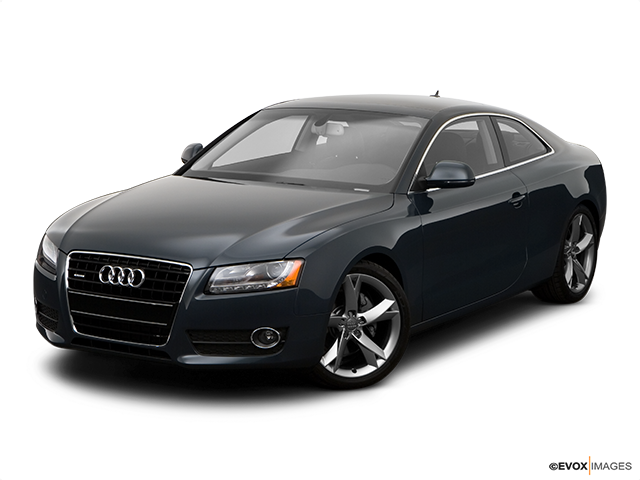 2008 Audi A5 Front angle view