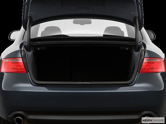 2008 Audi A5 Trunk open