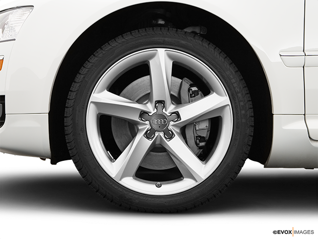 2008 Audi A8 Front Drivers side wheel at profile