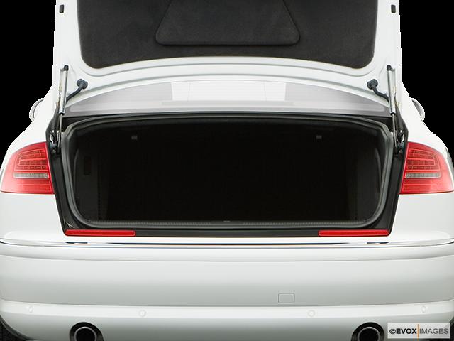 2008 Audi A8 Trunk open