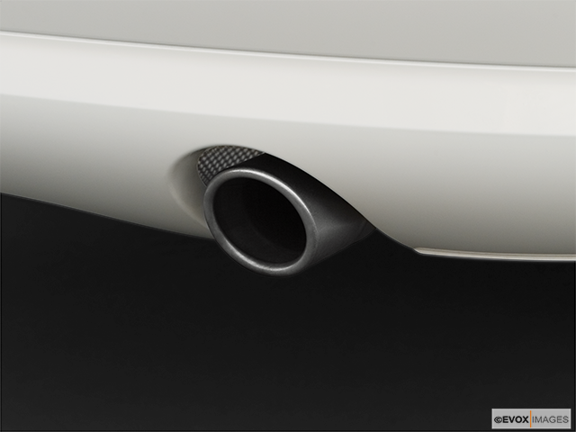 2008 Audi A8 Chrome tip exhaust pipe