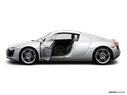 2008 Audi R8 Driver's side profile with drivers side door open