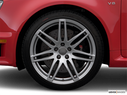 2008 Audi RS 4 Front Drivers side wheel at profile