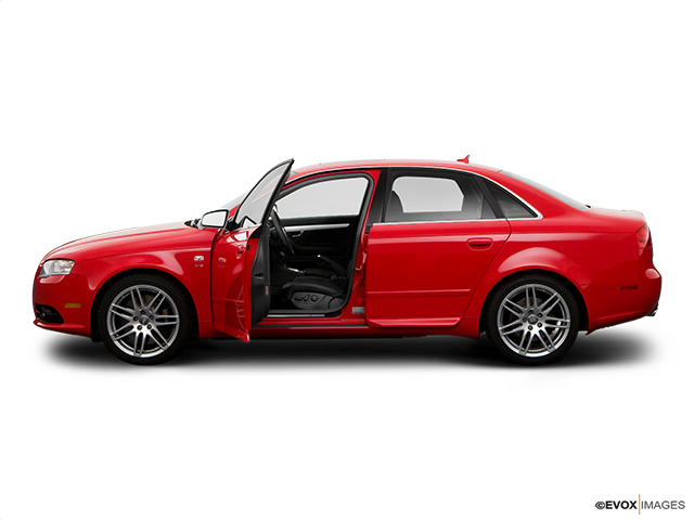 2008 Audi S4 Driver's side profile with drivers side door open
