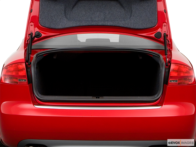 2008 Audi S4 Trunk open
