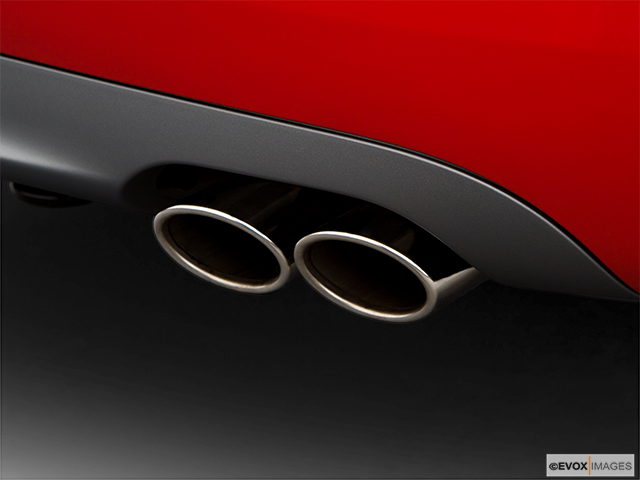 2008 Audi S4 Chrome tip exhaust pipe