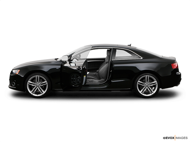 2008 Audi S5 Driver's side profile with drivers side door open