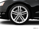 2008 Audi S5 Front Drivers side wheel at profile