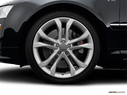 2008 Audi S8 Front Drivers side wheel at profile