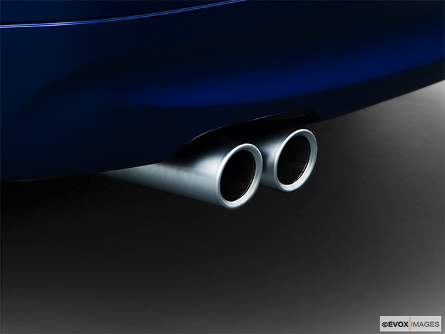 2008 BMW 3 Series Chrome tip exhaust pipe