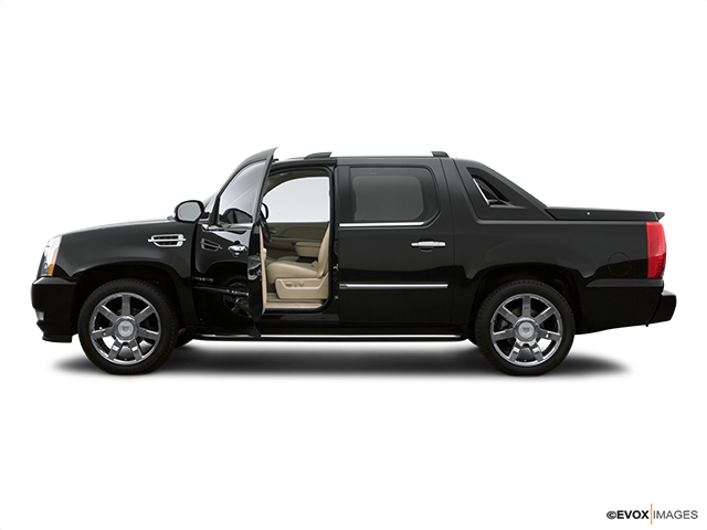 2008 Cadillac Escalade EXT Driver's side profile with drivers side door open