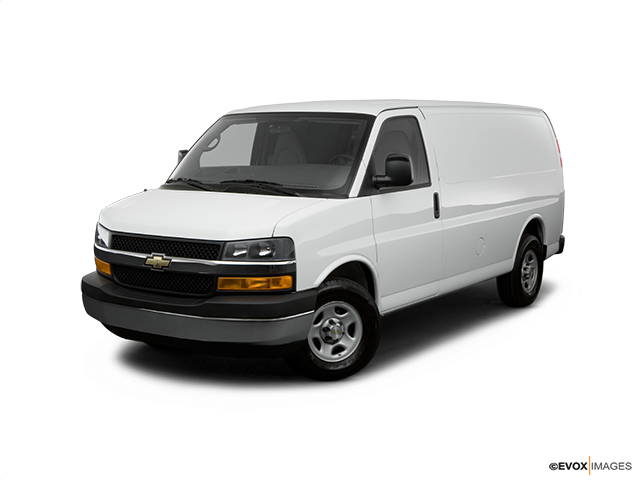 2008 Chevrolet Express Cargo Front angle view