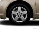 2008 Chevrolet Malibu Front Drivers side wheel at profile
